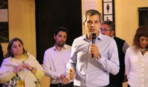 Tomás Grunhaut:                     El candidato de                 Unión por Córdoba