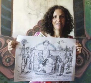 Dibujando                                LA HISTORIA                           de Mendiolaza